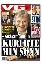 Helseminister Bjarne Håkon Hanssen: - Snåsamannen kurerte min sønn
