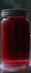 Ripslikør på norgesglass