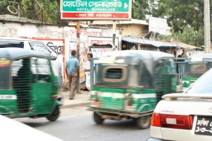 Dhaka - trafikk